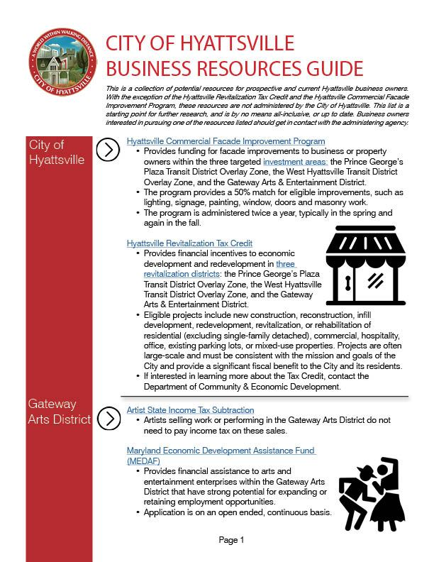Business Resources List - Updated 02.14.18
